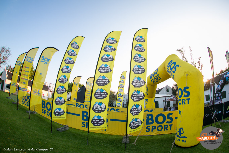 Bos Sport mountain challenge series, amplified by Jaybird